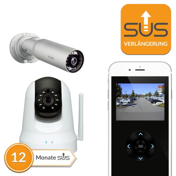 SUS Verlängerung D-Link IP Kameras