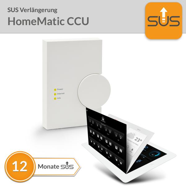 SUS Verlängerung HomeMatic CCU
