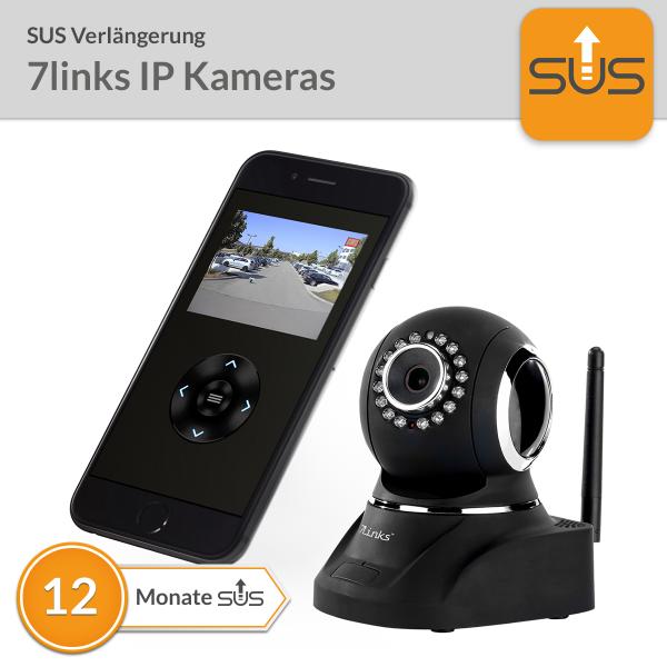 SUS Verlängerung 7links IP Kameras