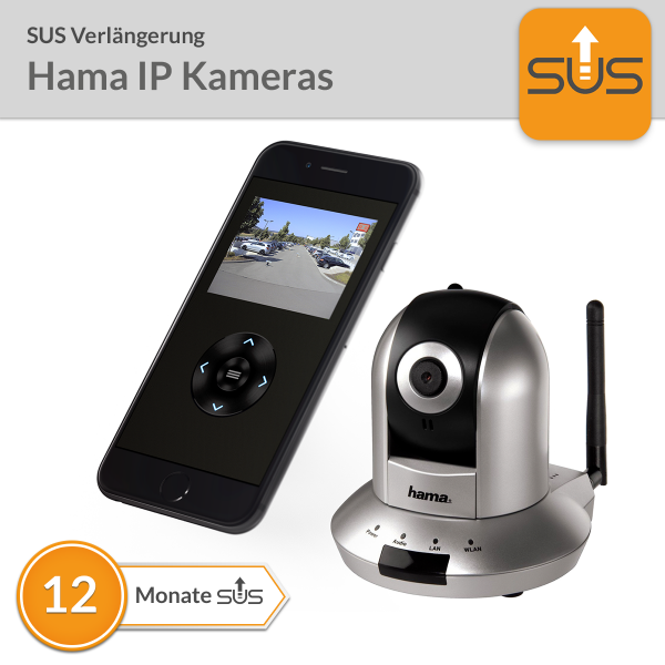 SUS Verlängerung Hama IP Kameras