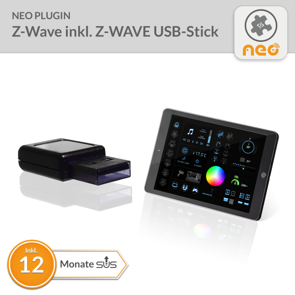 NEO Plugin Z-Wave inkl. Z-Wave Plus USB-Stick