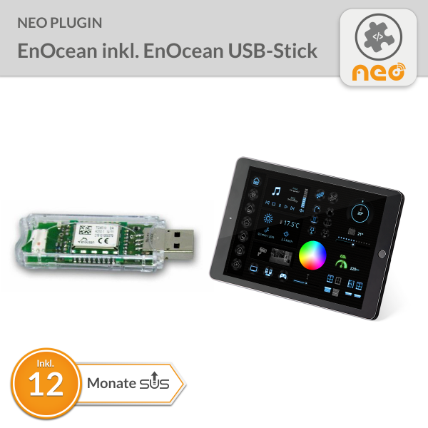 NEO Plugin EnOcean inkl. EnOcean USB-Stick