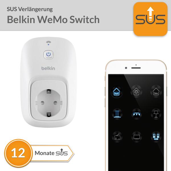 SUS Verlängerung Belkin WeMo Switch