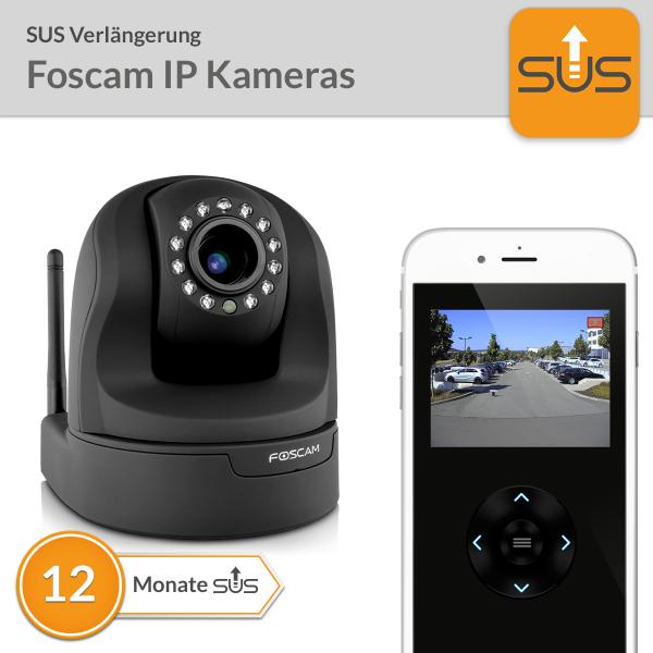 SUS Verlängerung Foscam IP Kameras