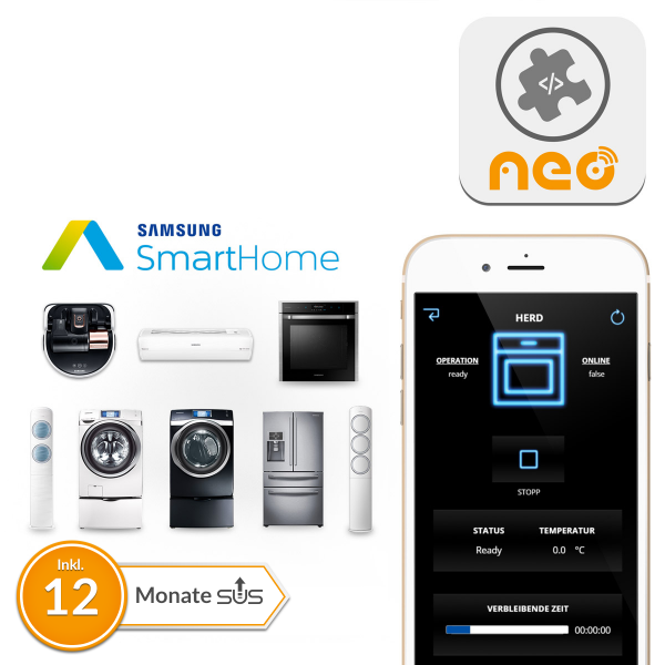 NEO Plugin Samsung smarte Haushaltsgeräte