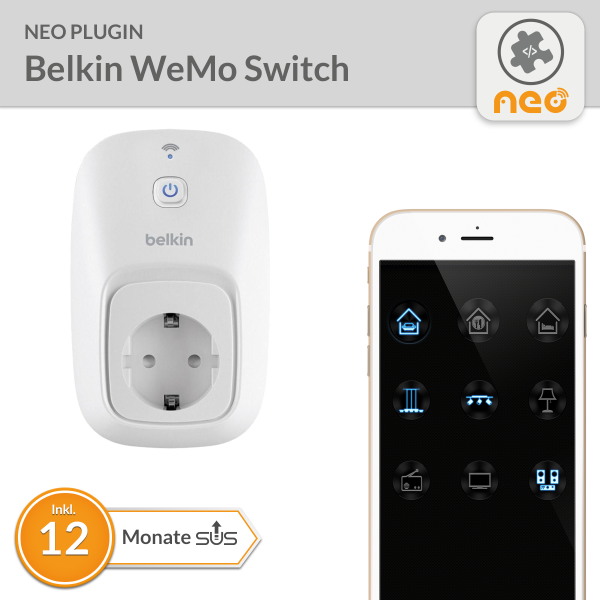 NEO Plugin Belkin WeMo Switch