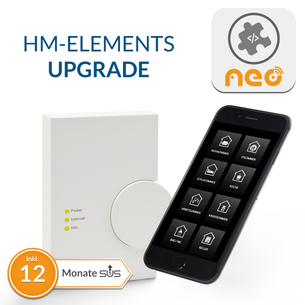 Upgrade für NEO Plugin HM-Elements CCU