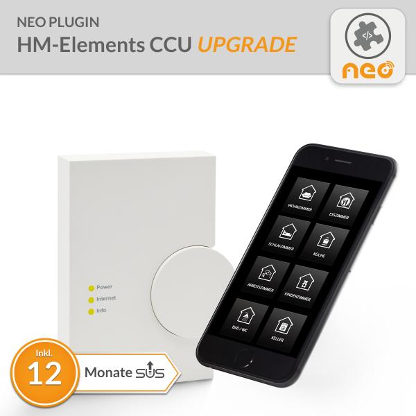 Upgrade für NEO Plugin HM-Elements CCU