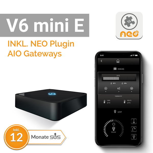 AIO Gateway V6 mini E inkl. AIO Gateways Plugin, Lizenzkey-Card