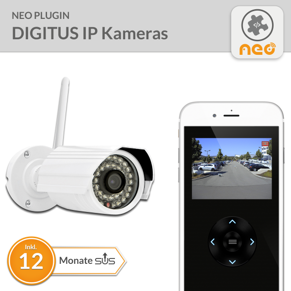 NEO Plugin DIGITUS IP Kameras