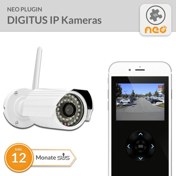 NEO Plugin DIGITUS IP Kameras