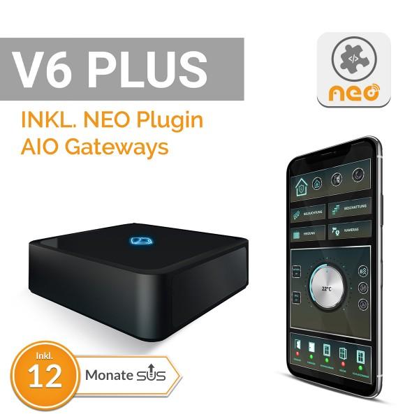AIO Gateway V6 Plus inkl. AIO CREATOR NEO Plugin mediola GW, Lizenzkey