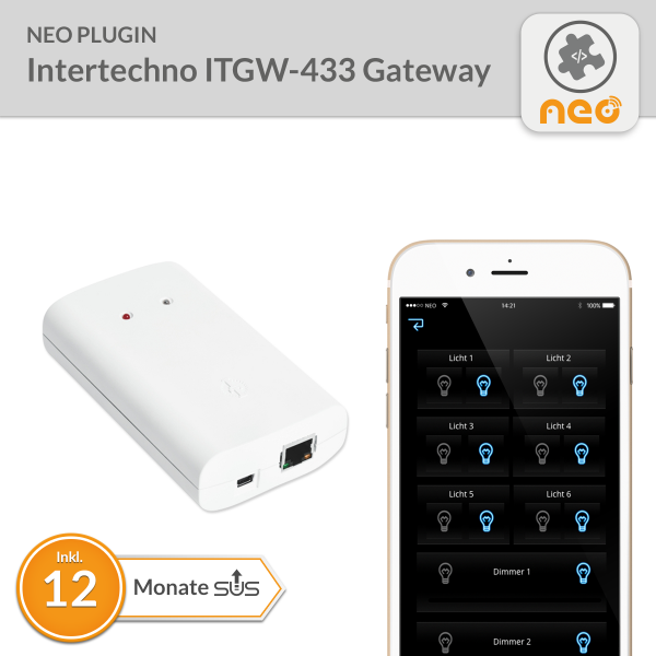 NEO Plugin Intertechno ITGW-433 Gateway