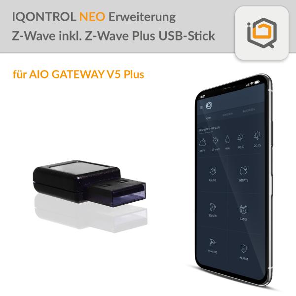 IQONTROL NEO Erweiterung Z-Wave inkl. Z-Wave Plus USB-Stick