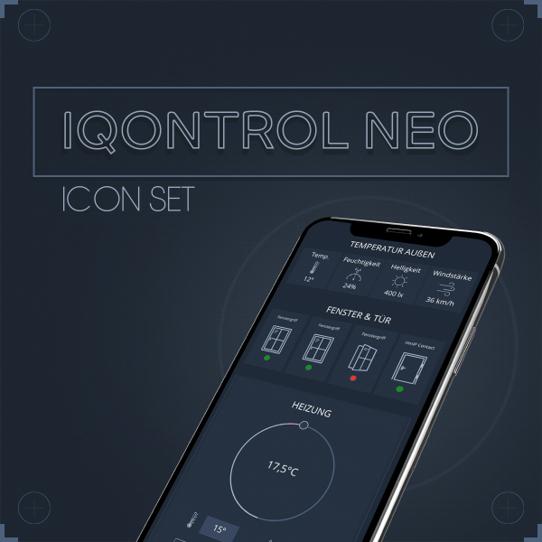 Icon Set IQONTROL NEO