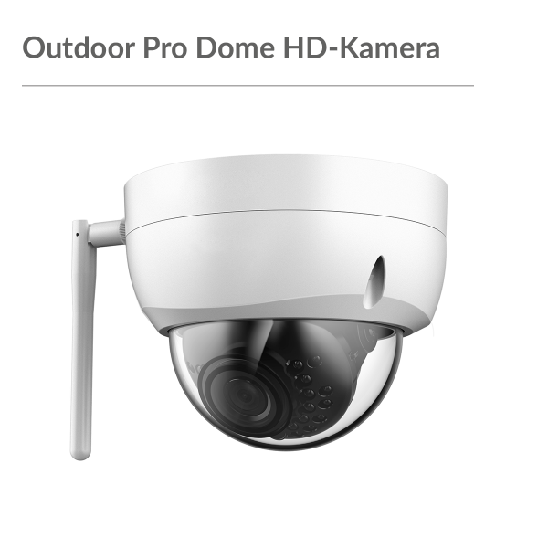 Outdoor Pro Dome Full HD-Kamera